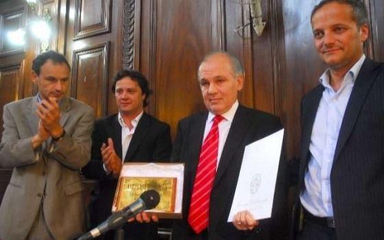 Sabella, el Ciudadano Ilustre de La Plata