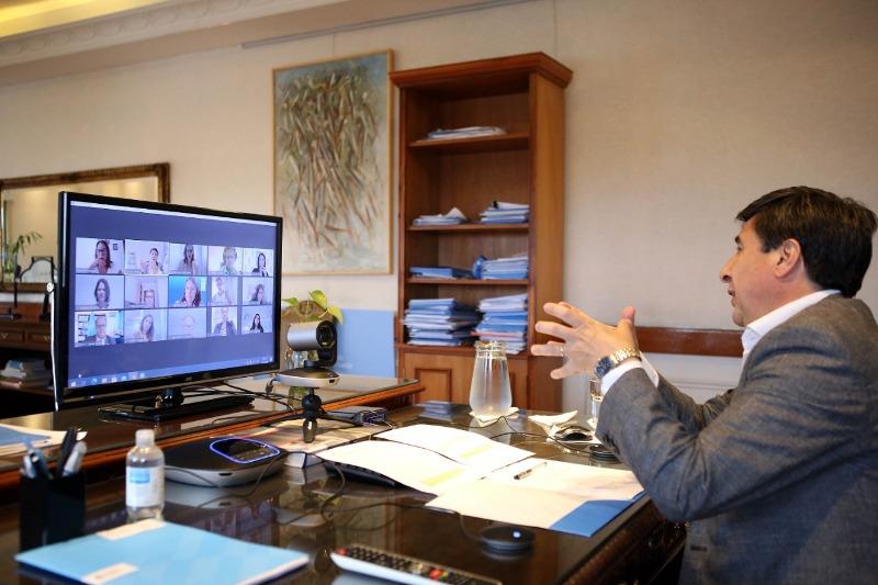 Se afianza la cooperación con el PNUD para fortalecer el programa Potenciar Trabajo