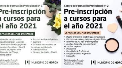 Photo of Abrió la preinscripción a cursos de capacitación laboral en Morón