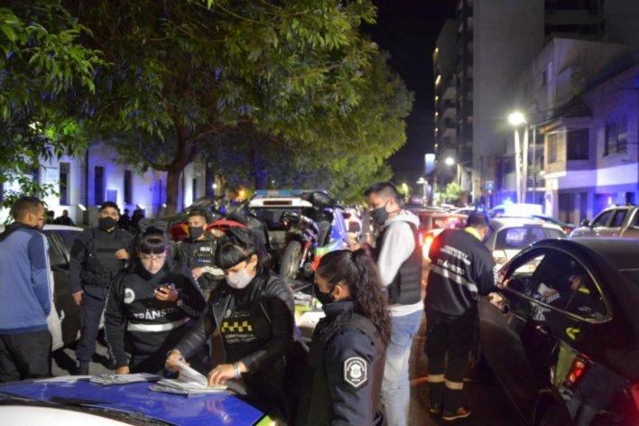 Arrancaron los controles nocturnos en La Plata
