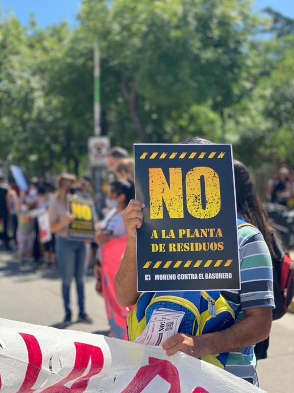 Moreno: ¿Una planta de residuos en medio de la gente?