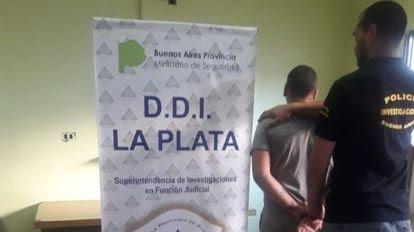 La Plata: detuvieron a un joven de 21 años tras tirotear la casa de su ex novia