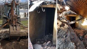 """Por un nene que se golpeó, hallaron un """"túnel secreto"""" en una plaza de La Plata: ¿De qué se trata?"""