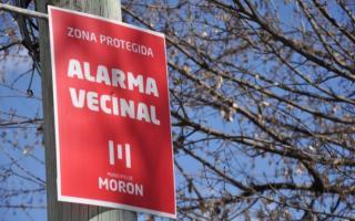 Morón: Más alarmas vecinales para fortalecer la seguridad en el distrito