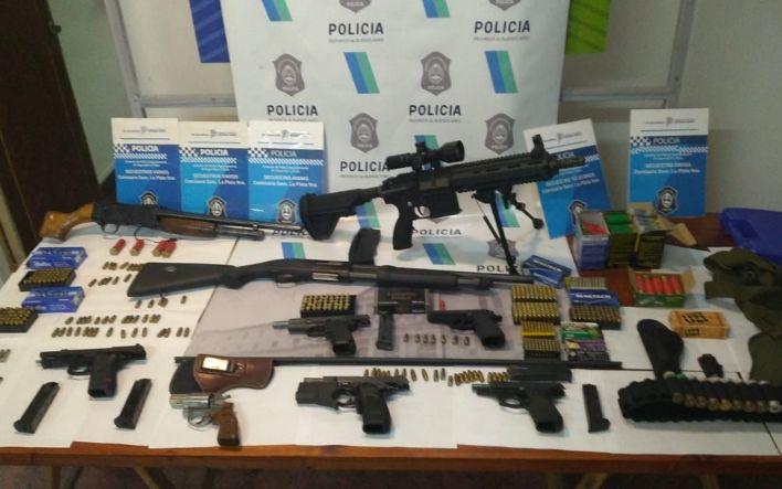 Mafia China en La Plata: caen 5 ciudadanos asiáticos y secuestran poderoso arsenal