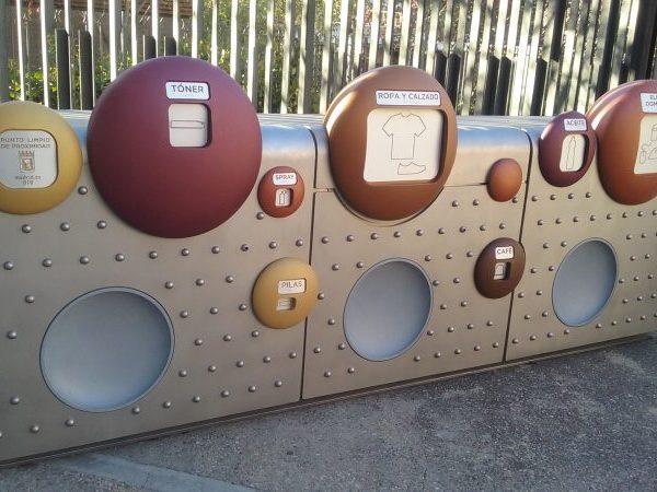 Así será el diseño de los contenedores del punto limpio de proximidad que se instalará en el Mercado de Barceló | Ayuntamiento de Madrid