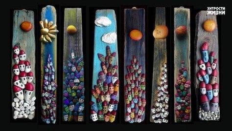 creatividad con piedras 2