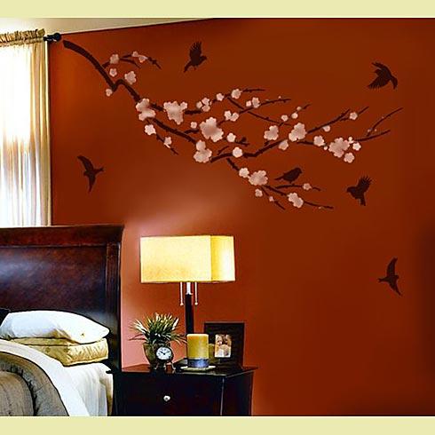 Decorar paredes pintura original
