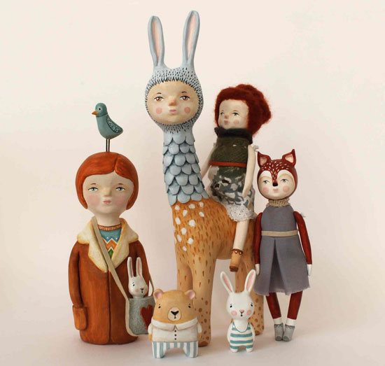 Diseños originales en papel mache personajes mitologicos