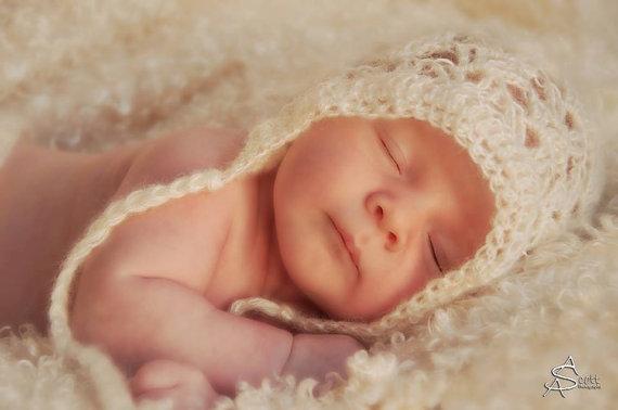 gorros de crochet para bebés 6