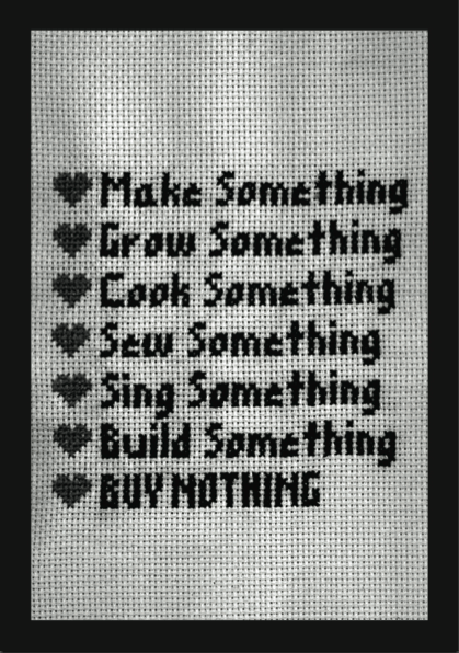 Qué es el craftivismo make something
