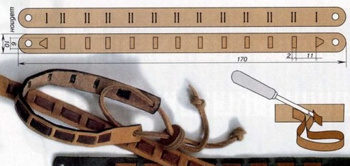 técnicas para hacer pulseras entramadas 1