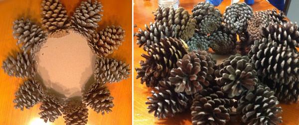 Decorar con pi as ideas de adornos para una navidad - Como se adorna un arbol de navidad ...