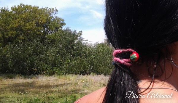 Usar la trenza bahiana para sujetar cabello