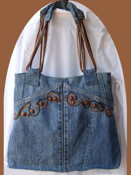 1167d0e54 Modelos De Carteras De Jeans Con Cuero | Stanford Center for ...