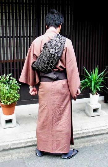 Bolsos furoshiki modelo mochila