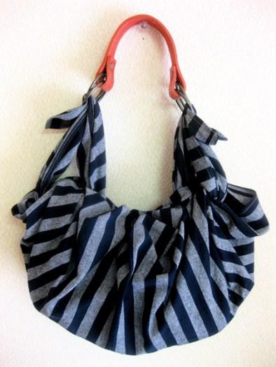 Bolsos furoshiki modelo con asa de cuero