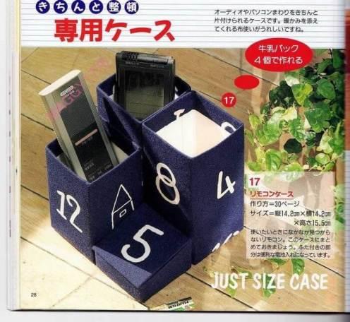 Ideas para reciclar cajas tetrapak 39