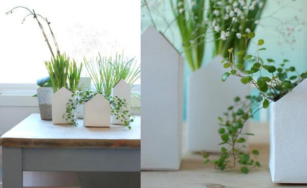 Reciclar cajas tetrapak las 50 mejores ideas - Casitas en macetas ...
