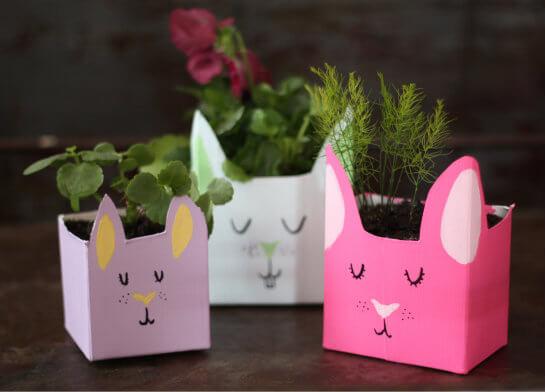 Christmas Crafts With Milk Cartons
