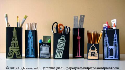 ideas para reciclar cajas tetrapak