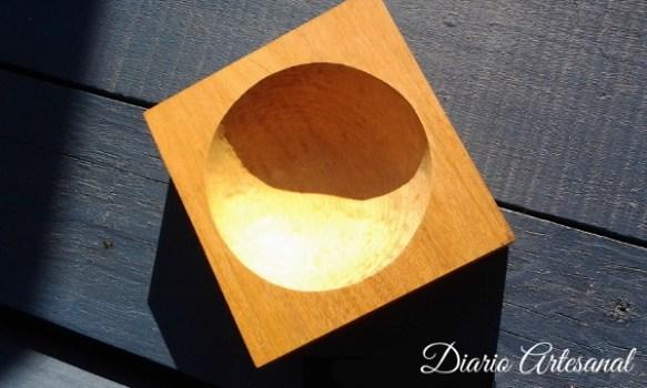 Taller tallado forma redonda concava
