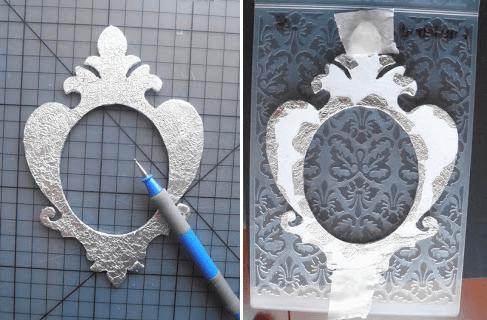 Manualidades con papel de aluminio 5
