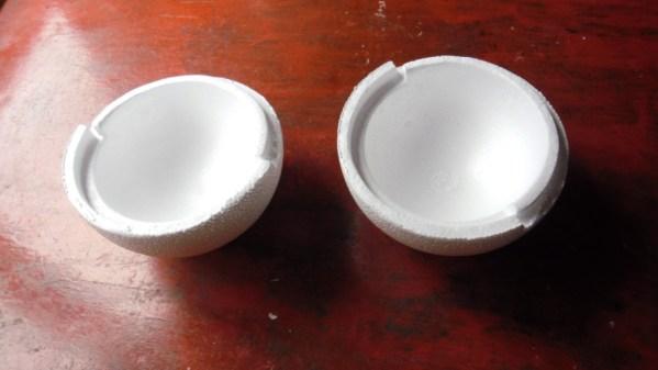 Cómo hacer velas esfera paso 1