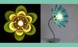 Ideas de lamparas con botellas