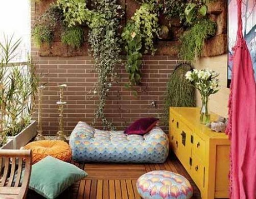 Cómo hacer un jardín vertical idea para colgar plantas