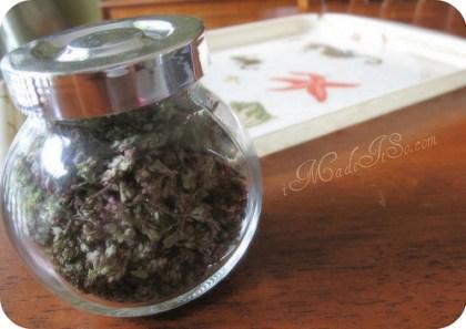 Flores de orégano receta de popurrí
