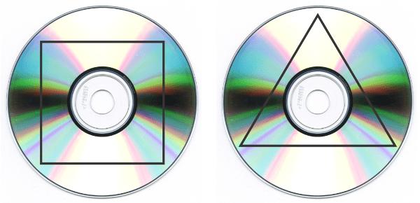Cómo cortar los cds reciclados para hacer macetas decorativas