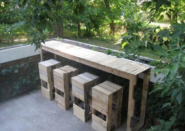 Muebles con palets 70 im genes inspiradoras de reciclaje for Muebles de cocina de 70 o 90