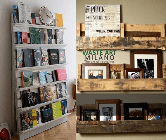 Muebles con palets 70 im genes inspiradoras de reciclaje de pal diario artesanal - Reciclaje de palet ...