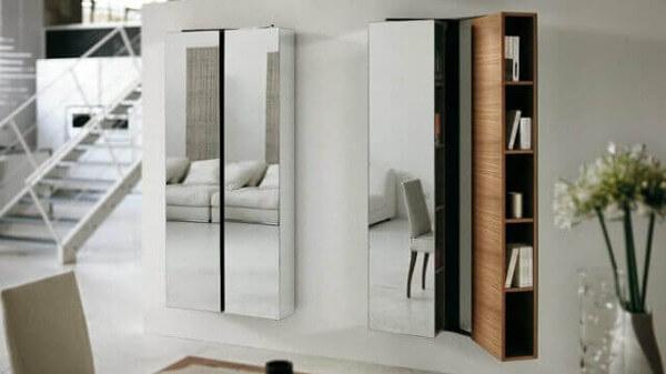 Ideas para decorar con espejos en los muebles