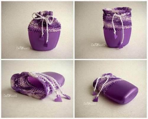 Reciclaje botellas de champú ideas crochet