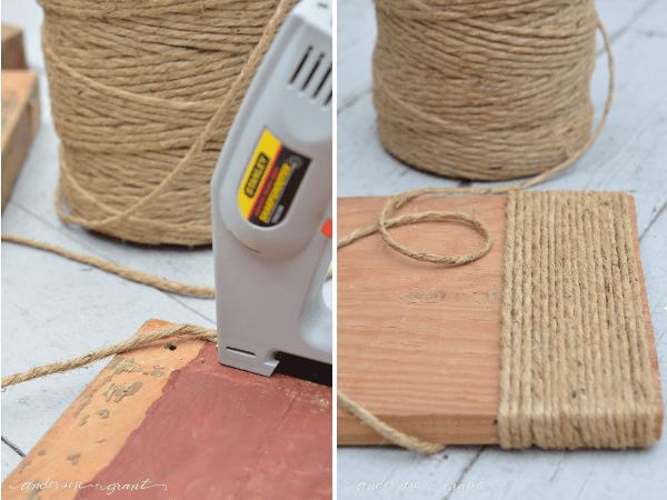Retapizar muebles con hilo sisal técnica para tapizar una banqueta