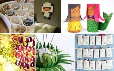 Ideas para reciclar los rollos de papel