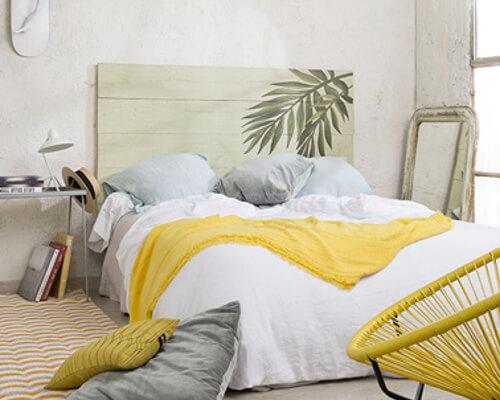 Cabeceros originales los mejores dise os artesanales - Cabeceros de cama originales pintados ...