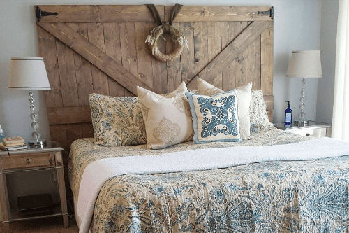Cabeceros originales los mejores dise os artesanales - Cabeceros de cama rusticos ...