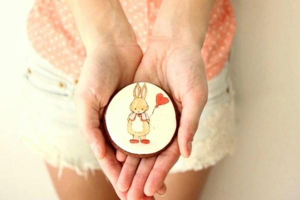 Dibujos de galletas a mano