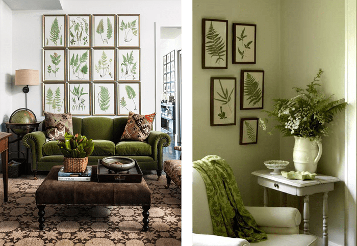 Ideas para una decoracion botanica