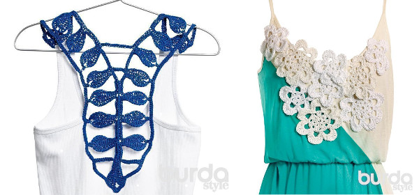Reciclando blusas y vestidos