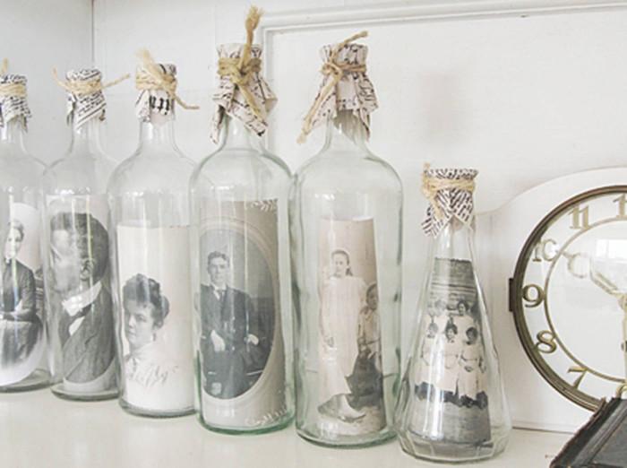 Exhibe tus fotografias en botellas