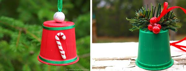 Arbol navidad manualidades con reciclaje