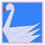 Patchwork cisne