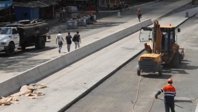 Obras del Metrobús en San Lorenzo están en la etapa final