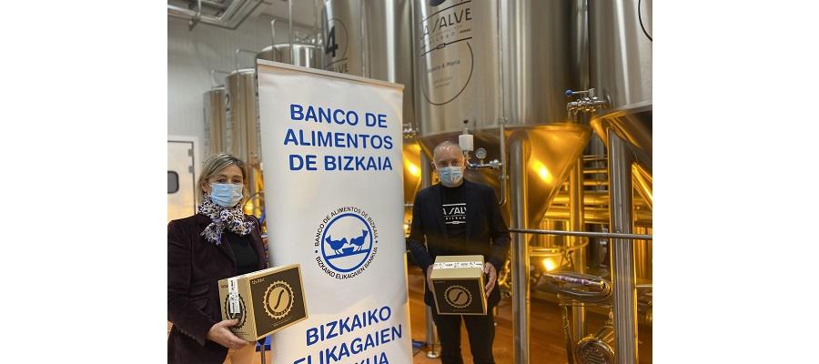 LA SALVE lanza su caja solidaria de Navidad, Gabonak 2020, con el Banco de Alimentos
