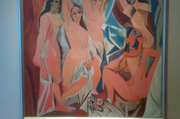 Las señoritas de Avignon. Pablo Picasso. 1907. MOMA, NYC.