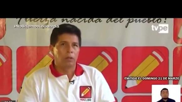 """Pedro Castillo plantea eliminar programas de farándula: """"Venden todo tipo de basura"""" - TV - Perú"""